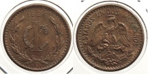 World Coins - MEXICO: 1926-Mo Centavo