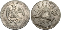 World Coins - MEXICO: 1894 MA AM 8 Reales
