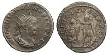 Ancient Coins - Valerian II, as Caesar 253-255 A.D. Antoninianus Samosata Mint Good VF