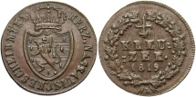 World Coins - GERMAN STATES: Nassau 1819 1/4 Kreuzer