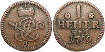 World Coins - GERMAN STATES: Mainz Archbishopric 1769 1 Heller