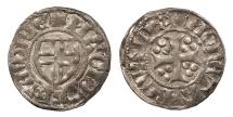 World Coins - ESTONIA Anonymous 14th-15th Centuries Schilling (Szelag or Ortug or Artig) EF