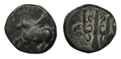 Ancient Coins - Corinthia Corinth 350-300 B.C. AE12 VF