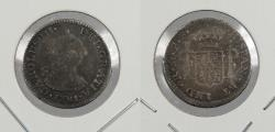 World Coins - MEXICO: 1781-Mo FF Charles III 1/2 Real
