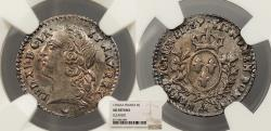 World Coins - FRANCE Louis XV 1769-AA 6 Sols NGC AU