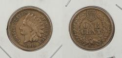 Us Coins - 1864 Indian Head 1 Cent Copper-Nickel