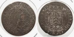 World Coins - SWISS CANTONS: Neuchatel 1808 1/2 Batzen