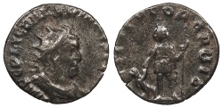 Ancient Coins - Valerian I 253-260 A.D. Antoninianus Rome Mint Good Fine