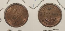World Coins - CANADA: Newfoundland 1941-C George VI Cent