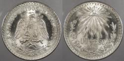 World Coins - MEXICO: 1943 Peso