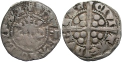 World Coins - ENGLAND Edward III 1327-1377 Penny transitional treaty issue, 1361