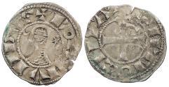 World Coins - CRUSADERS Antioch  Bohemund III 1163-1201 Denier   VF