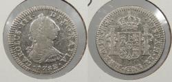 World Coins - MEXICO: 1782-Mo FF Charles III Real
