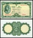 World Coins - IRELAND Central Bank of Ireland 2 October 1969 1 Pound Choice AU