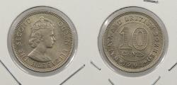 World Coins - MALAYA & BRITISH BORNEO: 1961 10 Cents