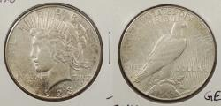 Us Coins - 1923 S Peace 1 Dollar (Silver)