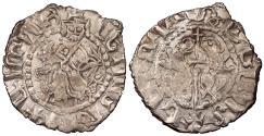 World Coins - ARMENIA Cilician Armenia Levon I, as King 1198-1219 Half Tram EF