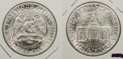 Us Coins - 1946 Iowa Centennial 50 Cents (Half Dollar)