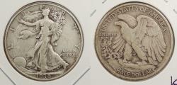 Us Coins - 1938 Walking Liberty 50 Cents (Half Dollar)