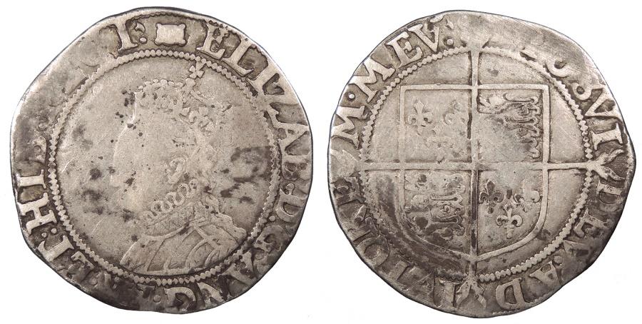 World Coins - ENGLAND Elizabeth I 1558-1603 Shilling Fine