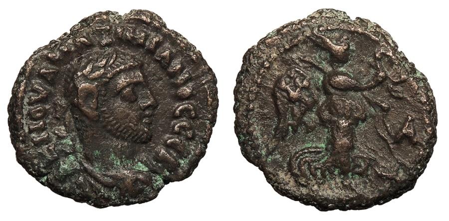 Ancient Coins - Egypt Alexandria Maximianus 286-305 A.D. Tetradrachm Alexandria Mint Good VF