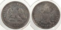 World Coins - MEXICO: 1879-Cn D 25 Centavos