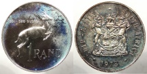 SOUTH AFRICA: 1973 Proof - Mintage 11,000 Rand