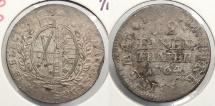World Coins - GERMAN STATES: Saxony 1764-Wo F 1/12 Thaler