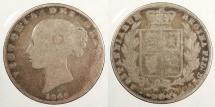 World Coins - GREAT BRITAIN: 1846 Halfcrown