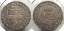 World Coins - GREAT BRITAIN: Lincolnshire 1812 Lincoln - Millson and Preston Shilling Token