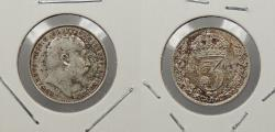World Coins - GREAT BRITAIN: 1905 Edward VII 3 Pence