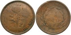 World Coins - CANADA: 1830s 1 Sou Token