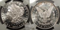 Us Coins - 1883 CC Morgan 1 Dollar (Silver) NGC MS-64 PL
