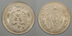 World Coins - MEXICO: 1943-M Peso