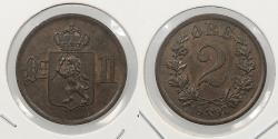 World Coins - NORWAY: 1897 2 Ore