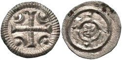 World Coins - HUNGARY Anonymous 12th century Denarius