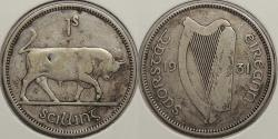 World Coins - IRELAND: 1931 Shilling