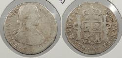 World Coins - MEXICO: 1810-Mo TH Ferdinand VII 2 Reales