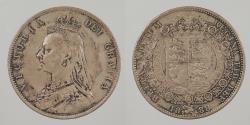 World Coins - GREAT BRITAIN: 1888 Halfcrown