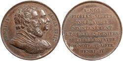 World Coins - FRANCE Paris Mint. By F. Gayrard ND (Ca. 1817) AE 33mm Medal EF