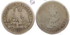 World Coins - MEXICO: 1882-Pi H 50 Centavos