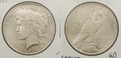 Us Coins - 1934 Peace 1 Dollar (Silver)