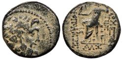 Ancient Coins - Syria Seleucis and Pieria Antioch Pseudo-autonomous Coinage Seleukid Era (92/91-70/69 B.C.) AE19 Antioch Mint Good Fine