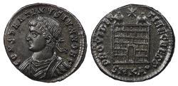 Ancient Coins - Constantine II, as Caesar 317-337 A.D. AE3 Cyzicus Mint Choice EF