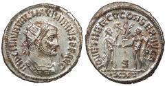 Ancient Coins - Maximianus 286-305 A.D. Antoninianus Antioch Mint EF