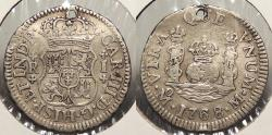 World Coins - MEXICO: 1768-Mo M Real