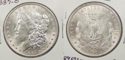 Us Coins - 1887 O Morgan 1 Dollar (Silver)