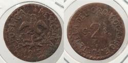 World Coins - MEXICO: Tetela del Oro y Ocampo 1915 2 Centavos