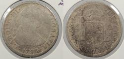 World Coins - MEXICO: 1783-Mo FF Charles III 2 Reales