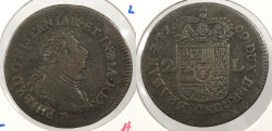 World Coins - SPANISH NETHERLANDS: Namur 1709 2 Liards